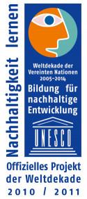Logo UN-Dekade